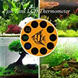 Calli BOYU BT-04 LCD Discolor Thermometer Aquarium Digital Thermometer For Fish Tank