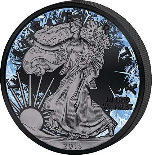 Power Coin Walking Liberty Deep Frozen Edition 1 Oz Silber Münze 1$ US Mint 2018