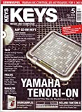 Keys 5 2008 mit CD - Yamaha Tenori-On - 150 MB Drum Samples auf CD - Personal Samples - Free Loops - Audiobeispiele