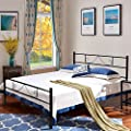 Aingoo Metal Bed Frame in Black