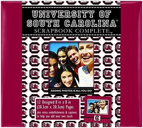 C.R. Gibson Scrapbook komplett-Kit, klein, South Carolina Gamecocks (c849709m) (South Carolina Gamecock Fußball)