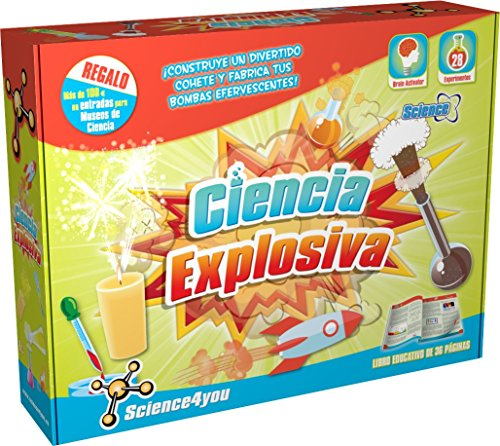 Science4you Ciencia explosiva - Juguete científico y educativo