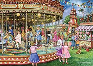 1000 Piece Jigsaw Puzzle - Gallopers