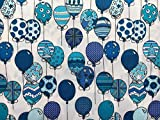 Hot Air Luftballons Druck auf weiß | 100% Premium