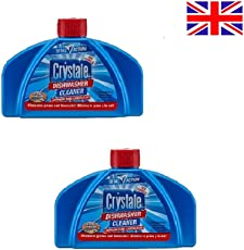 Crystale Dishwasher Cleaner 250ml Combo Pack of 2