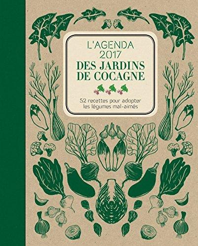 Agenda 2017 des Jardins de Cocagne par Joyce Briand