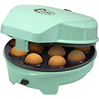 Bestron 3-in-1 Cakemaker im Retro Design, mit 3 auswechselbaren Backplatten, Donut-, Cupcake- und Cakepop Maker…