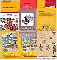 NCERT Political Science Book Set for Class 6 to 12 (9 Books - SchoolWaale) [Unknown Binding]
