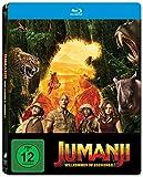 Jumanji: Willkommen im Dschungel (Limited Steelbook Edition) [Blu-ray]
