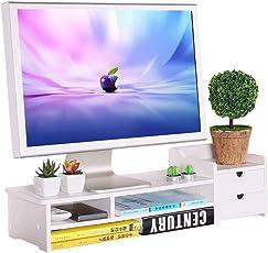 Yingui Computer Monitor Erhöhung Rack Office Desktop Aufbewahrungsbox Bildschirm Basis Multi-Funktion Lagerung Artikel Finishing