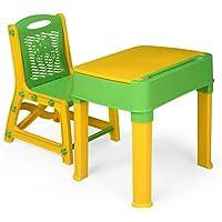 Nilkamal Apple Junior's Study Set (Green and Yellow)