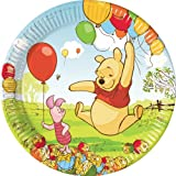 Amscan Winnie The Pooh And Piglet 23 cm Plate