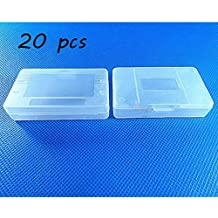 Laixing Buena Calidad 20pcs Clear White Game Cartridge Case para Game Boy GBA SP
