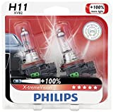 Best H11 Bulbs - Philips H11 X-tremeVision Upgrade Headlight Bulb, 2 Pack Review