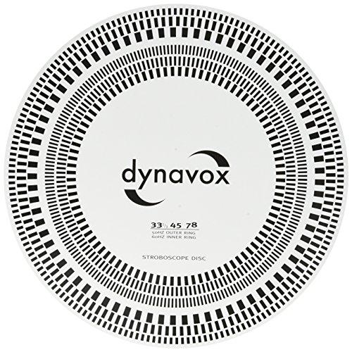 DynaVox Gabarit de réglage pour tête de lecture/disque stroboscopique