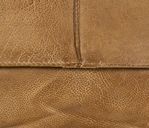 FredsBruder Waxed Leather Journey sac à main bandoulière cuir 28 cm Toffee (Marron)