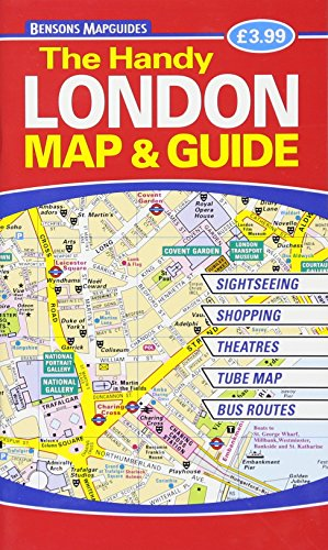 The Handy London Map & Guide por Bensons MapGuides