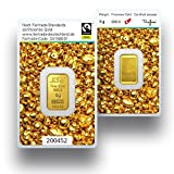 Goldbarren 5g Gramm | Fairtrade Gold 999.9 Feingold