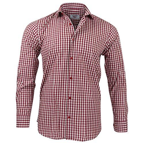 CAPTAIN Slim Fit Herren Hemden (in 24 verschiedenen Farben) Langarm-Hemd 100% Baumwolle