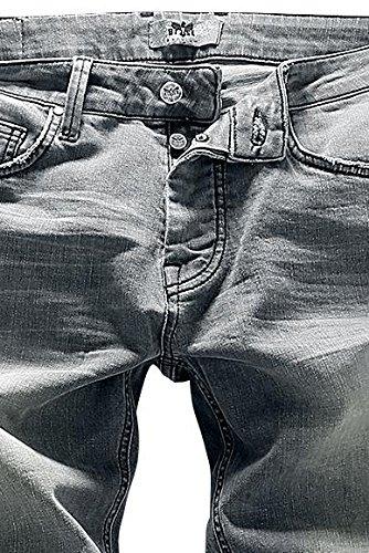 Black Premium by EMP Johnny (Boot-Cut) Jeans grau Grau