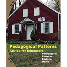 Pedagogical Patterns: Advice For Educators