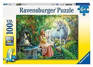 Ravensburger - Puzzles 100 piezas XXL, diseño El reino de los unicornios (10559 5)
