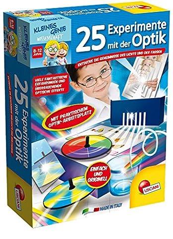 Lisciani 52684 - 25 Experimente mit der Optik, Spiel (Wissenschaft Experimente Licht)
