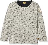 Steiff Baby-Jungen T-Shirt 1/1 Arm Langarmshirt, Grau (Allover Multicolored 0003),86