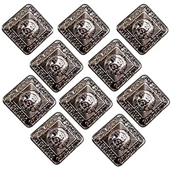 Set Of 10 Small 15mm Silver Finish Kilt Jacket Prince Charlie Crail Buttons New