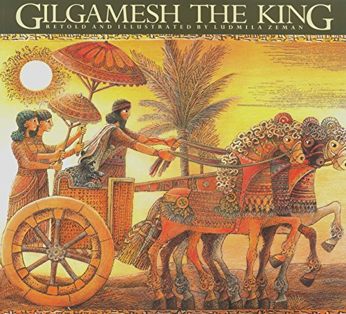 Gilgamesh the King (Epic of Gilgamesh (Paperback)) por Ludmila Zeman