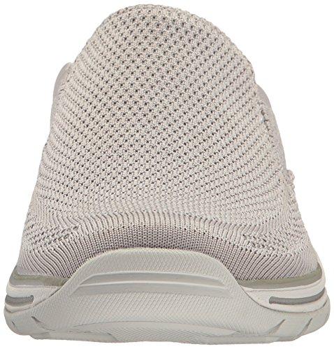 Skechers 65086 Slip-on Man Light Gray
