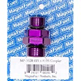 Magnafuel Racing Systems MP-3028 #10 to #8 Straight Coupler Fitting