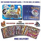#5: Toy-Station Pokemon - Sun & Moon Trading Cards Tin Box