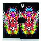 Wicostar Book-Style Flip Mobile Phone Case Protective Shell