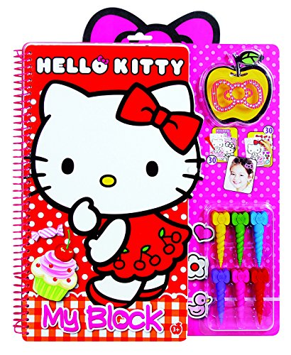 Hello Kitty - 1023-59763 - Set de Colorear con lápiz mágico My Block