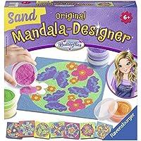 Ravensburger Mandala Designer Sand Butterflies, con 8 Modelos y 6 frascos de Arena (299010)