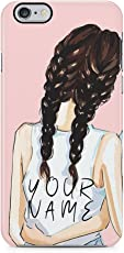 Personalised Custom Text Best Friend Brunette Initials Every Blonde Needs A Brunette Best friend Schutzhülle aus Hartplastik Handy Hülle für iPhone 6 / iPhone 6s Case Hard Cover