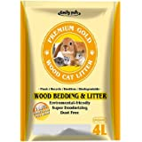 Emily Pets Pine Wood Cat Litter, 4 L