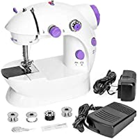 Milford Sewing Machine Multi Electric Mini 4 in 1 Desktop Functional Household Sewing Machine, Mini Sewing Machine, Sewing Machine for Home Tailoring, Sewing Machine for Hand use