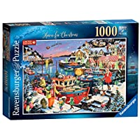 Ravensburger UK 13991 Ravensburger Home for Christmas Limited Edition 2019 1000pc Jigsaw Puzzle,