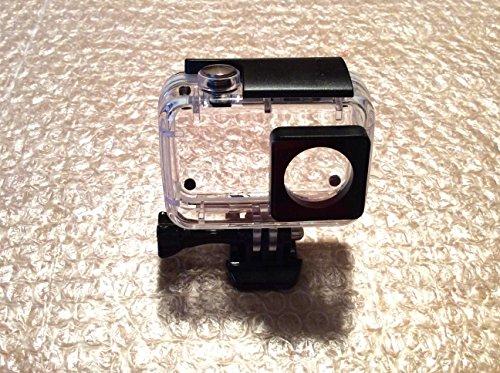 Rhodesy Wasserfest beschichtet Gehäuse Pour Xiaomi Yi 4K/4K mit Schnellspanner schnallen für Xiaomi Yi 4K/4K+/Yi Lite/Yi Discovery Aktionskamera 2 Schwarze
