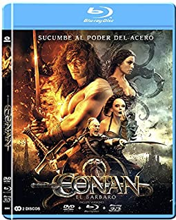Conan, El Bárbaro (Blu-ray 3D+2D) [Blu-ray] (B0081O74ZQ) | Amazon price tracker / tracking, Amazon price history charts, Amazon price watches, Amazon price drop alerts