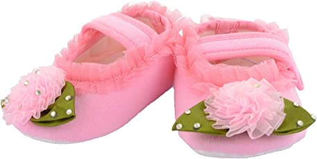 Daizy Baby Girls' Cotton Booties