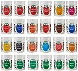 Fuchs 24er Gewürz-Sortiment in der Dekorbox Gewürzdosen-Set Gewürz-Sortimentskasten, mit 24 verschiedenen Gewürzen, zum Kochen und Backen, Menge: 1 Stück