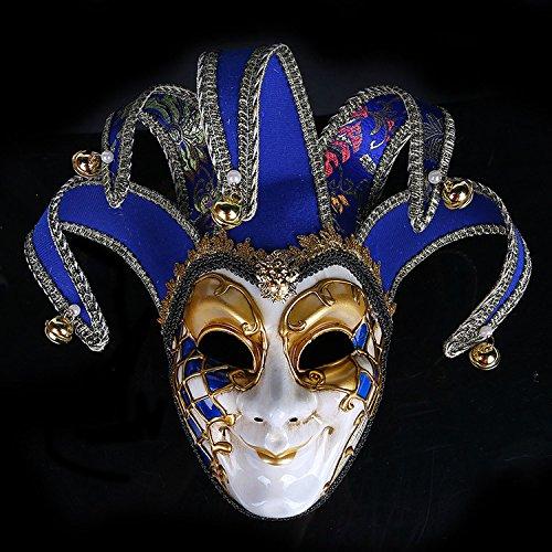 Alten Kostüme Die Ägypter (K&C Kostüm Maske Halloween Maskerade Elegante Glitzer Augen Masken Joker Maske)