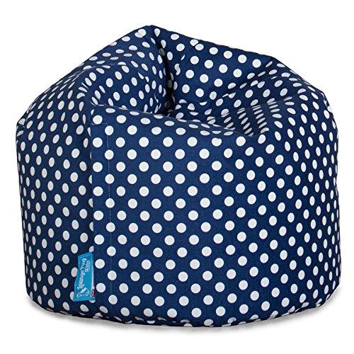 Lounge Pug®, Puff Infantil, Estampado para Niños - Azul