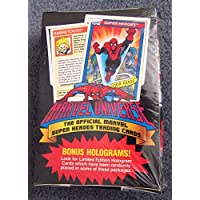 1990 Marvel Universe Series I Trading Card Box - 36 Packs 12 Cards per Pack by Impel
