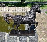 Sehr schöner Bronzeskulptur eines Pferd aus Bronze gefertigt.