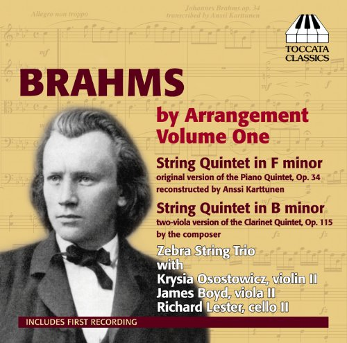 Brahms By Arrangement Vol.1 Volle Zebra