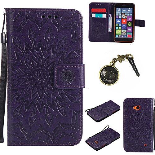 Preisvergleich Produktbild PU Silikon Schutzhülle Handyhülle Painted pc case cover hülle Handy-Fall-Haut Shell Abdeckungen für Nokia lumia 640 / N640 +Staubstecker (3GG)